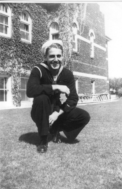 """My grandfather fought in WWII as a """"Sea Bee"""". All his brothers fought in the war as well."""