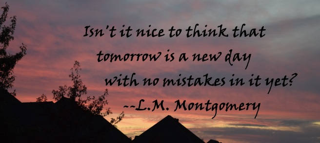 tomorrow has no mistakes in it yet